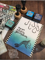 Fishers of Men | Bible Journaling Clear Stamp Set