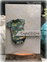New Baby| Clear stamp set