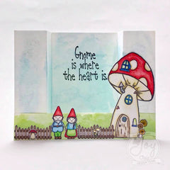 Gnome is where the Heart is  | Clear stamp set