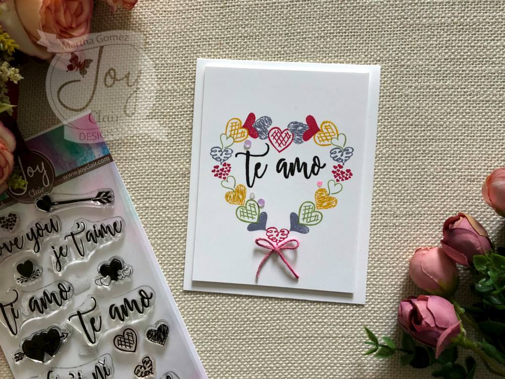 Love Languages | Clear stamp set