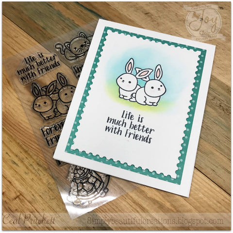 Best Buds | Clear stamp set
