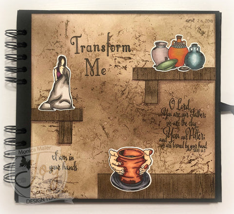 The Potter | Bible Journaling Clear Stamps