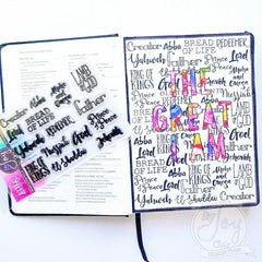 Many Names | Bible Journaling Clear Stamps