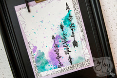 Inspirational Arrows | Bible Journaling Clear Stamps