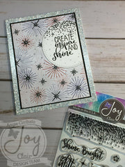 Born to Sparkle Clear Stamps