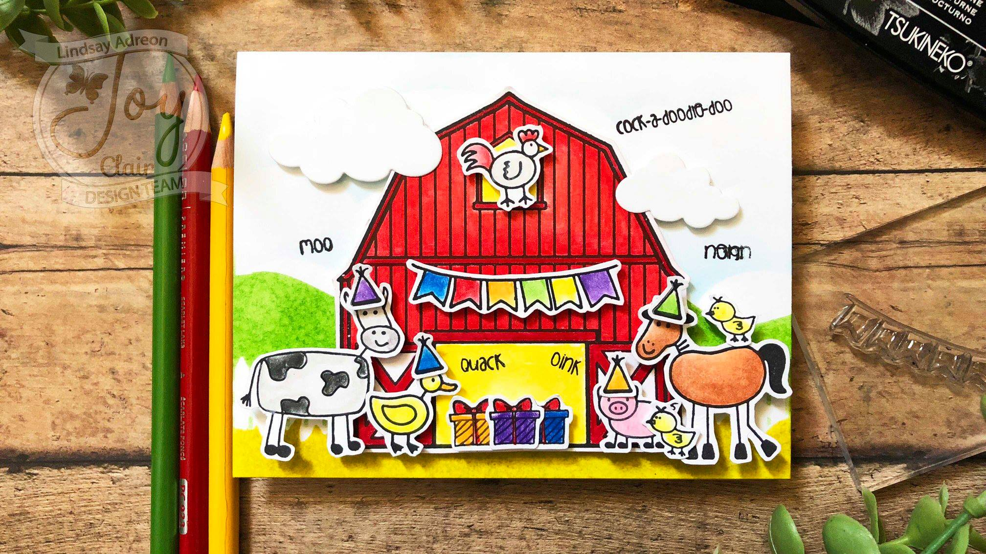 Barn Party Clear Stamps