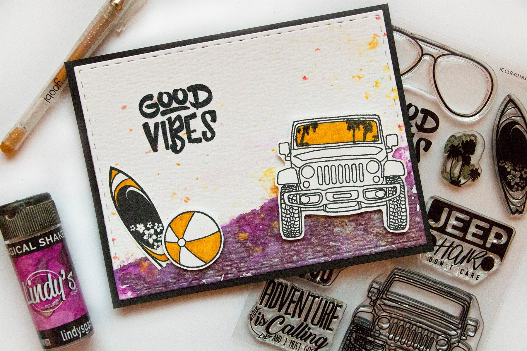 Good Vibes  Clear Stamps
