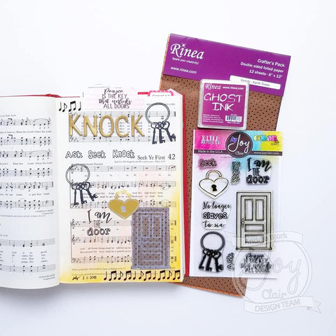 I Am  | Bible Journaling Clear Stamp
