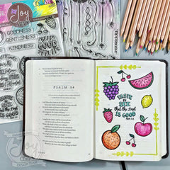 Fruit of the Spirit | Bible Journaling Clear Stamp