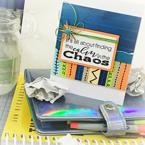 Doodle Lines Clear Stamps