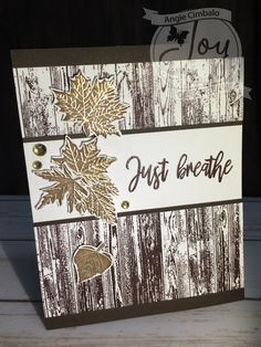 Wood Background Clear Stamps