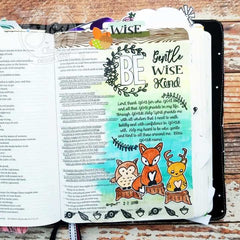Deer Friends  | Bible Journaling Clear Stamp