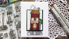 Dwelling Place  | Bible Journaling Stamp set
