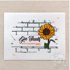 Thankful and Blessed | Bible Journaling Stamp set