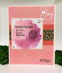 #single clear stamp