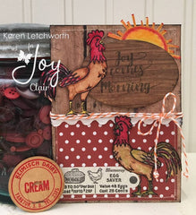 Rise and Shine  | Bible Journaling Clear Stamp
