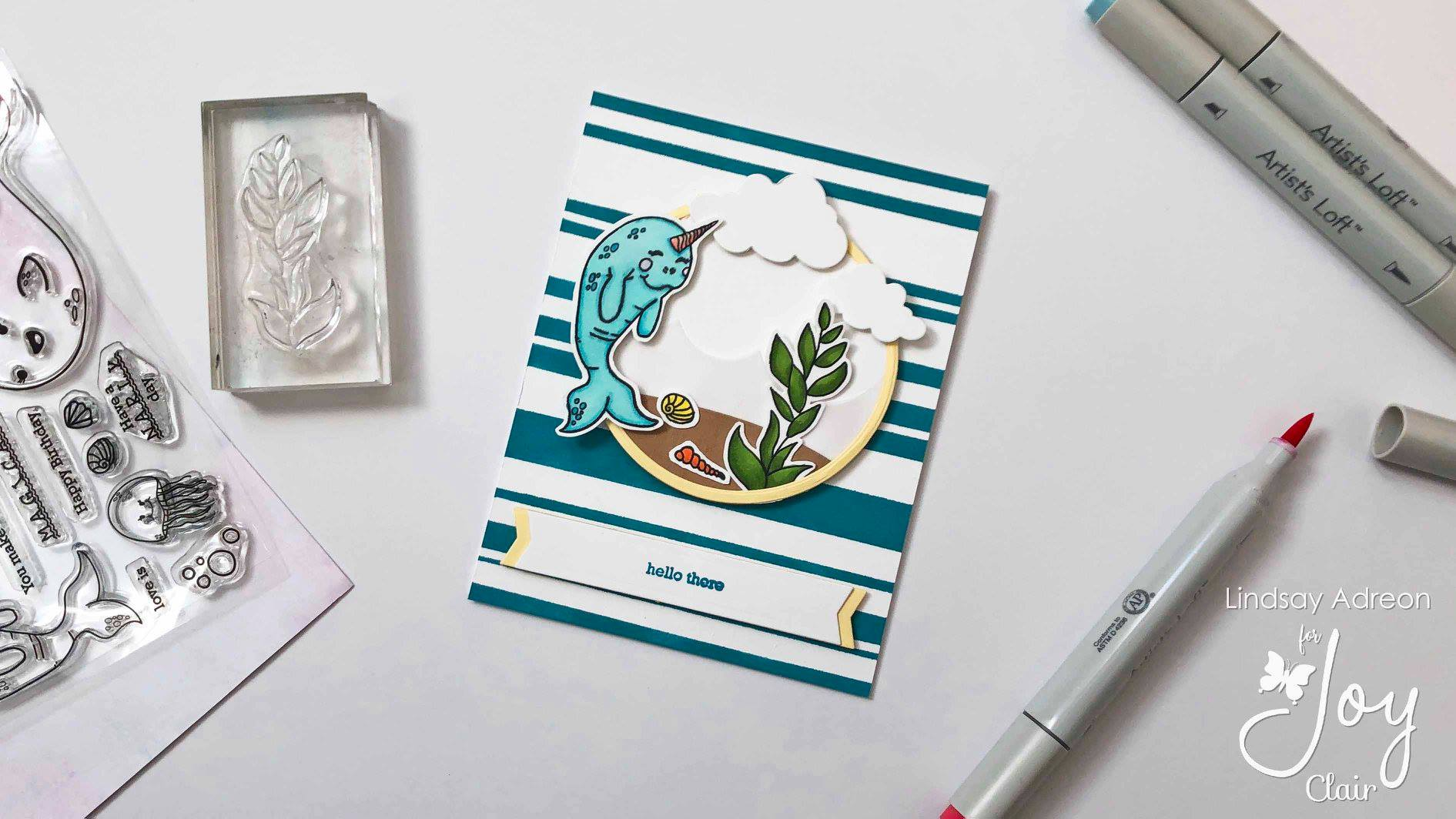 Whale Hello There | Clear Stamp Set