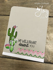Blossom | Bible Journaling Clear Stamp