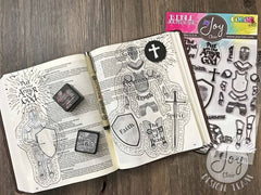 Armor of God | Bible Journaling Clear Stamps