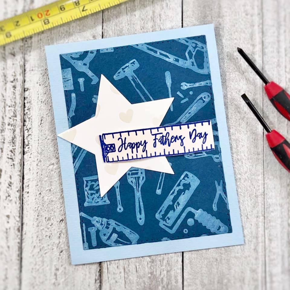 Tool Background Clear Stamps
