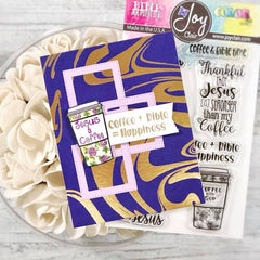 Coffee and Jesus | Bible Journaling stamp set