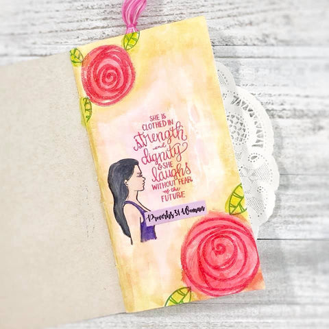 Proverbs 31 | Bible Journaling stamp set