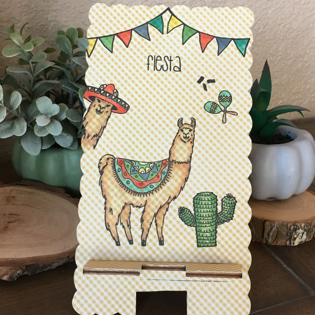 No Probllama Clear Stamps