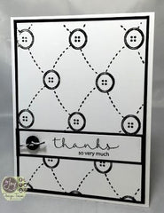 Tufted Buttons Background Clear Stamp - Joy Clair - 6