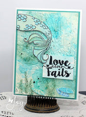 Mermaid at Heart  |  Clear Stamps