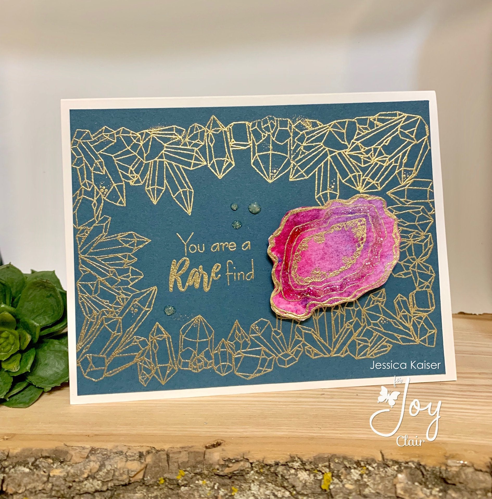 Crystal Background  |  Clear Stamps