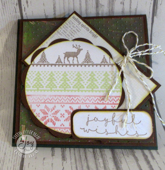 ec20948b04ef Ugly Sweater Background Builder Clear Stamps