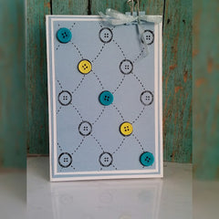 Tufted Buttons Background Clear Stamp - Joy Clair - 4
