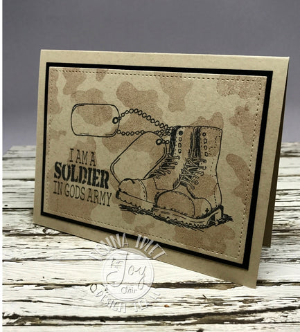 God's Army | Bible Journaling Clear Stamps