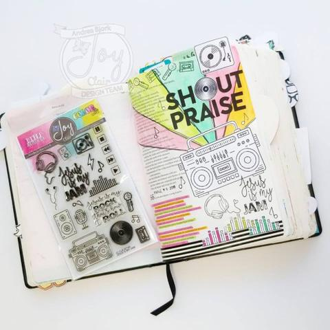 Jesus is My Jam  | Bible Journaling Clear Stamps