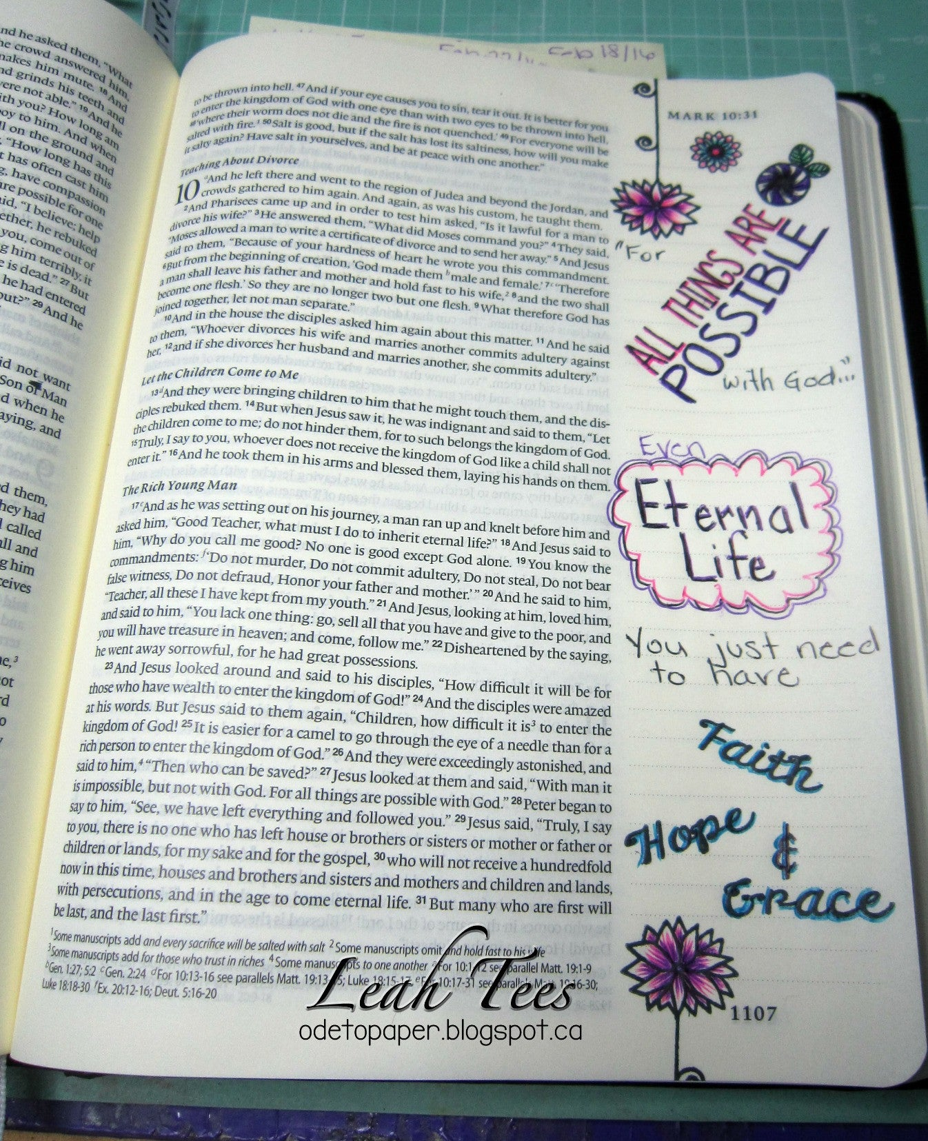 Clear Stamps - All Things Possible | Bible Journaling Clear Stamps - Joy Clair - 13