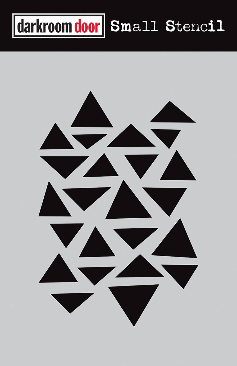 Arty Triangles Stencil