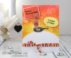 Breakfast Friends Forever Clear Stamps - Joy Clair - 12