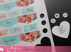 Clear Stamps - Bible Planner | Bible Journaling Clear Stamps - Joy Clair - 4