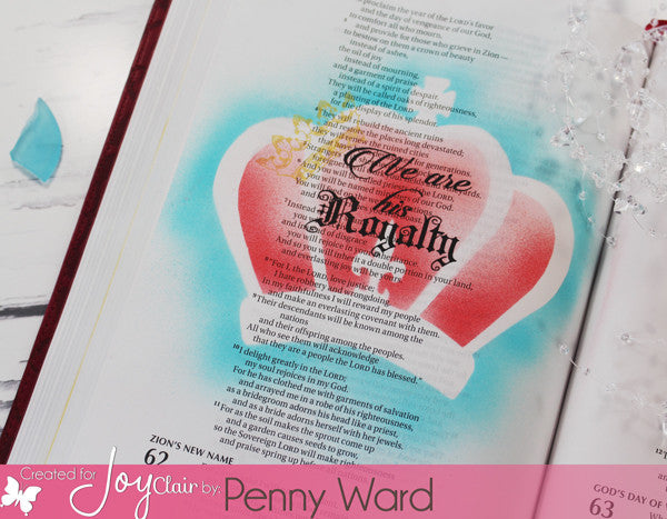 Clear Stamps - Child of the King | Bible Journaling Clear Stamp - Joy Clair - 5