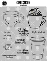 Coffee Mood Digital Set