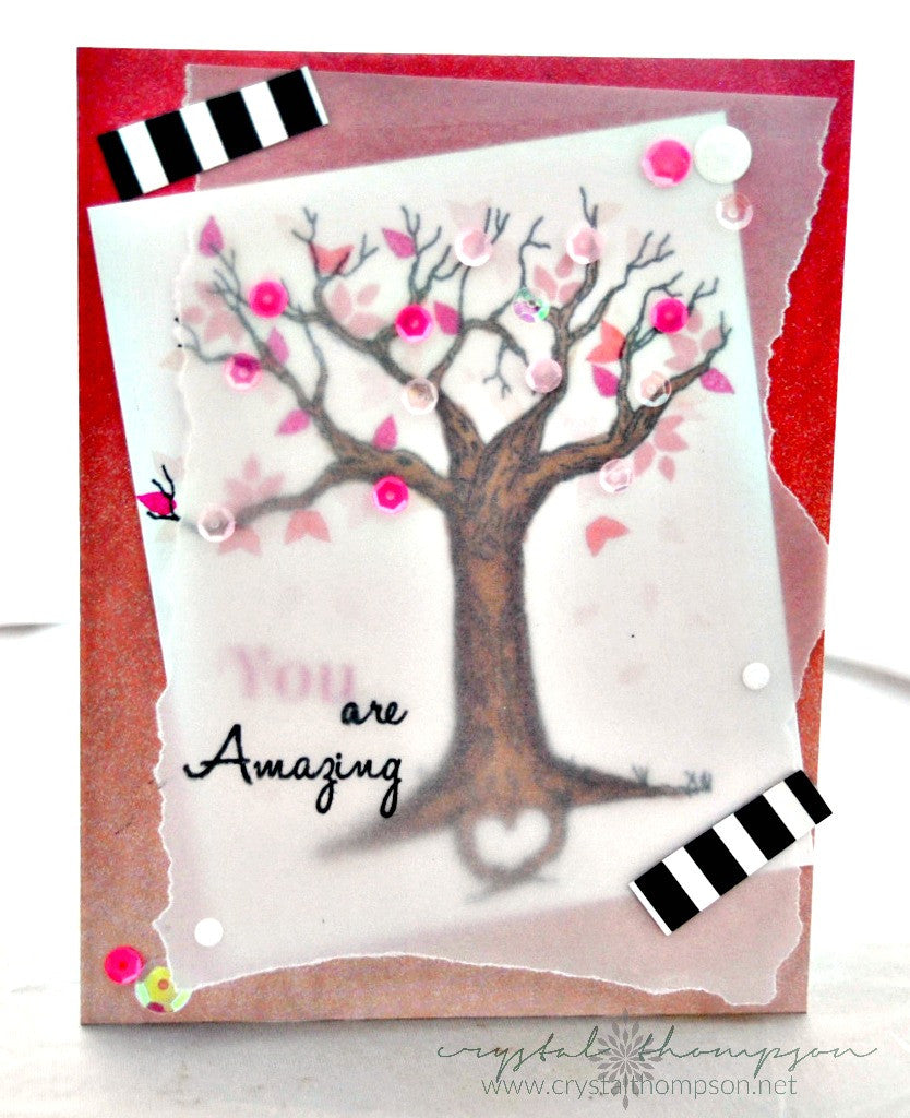 The Love Tree Clear Stamps - Joy Clair - 8