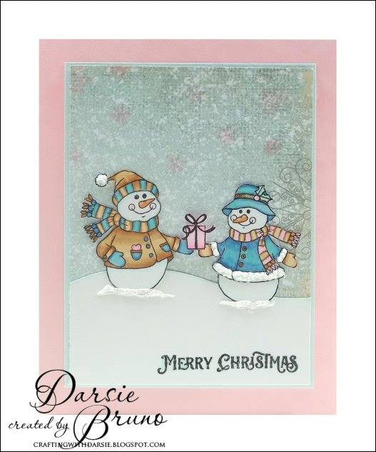Cozy Snowman Wishes Clear Stamps - Joy Clair - 11