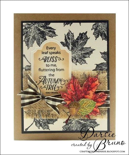 Hello Autumn Clear Stamps - Joy Clair - 4