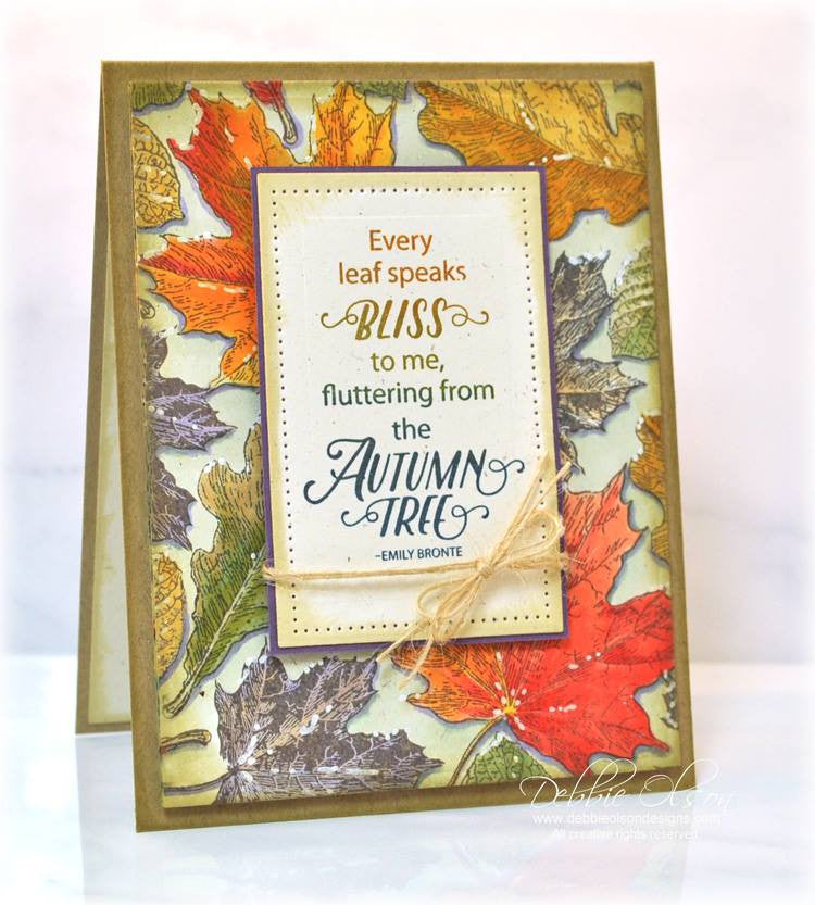 Hello Autumn Clear Stamps - Joy Clair - 2