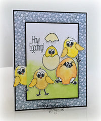 Easter Eggs Clear Stamps - Joy Clair - 15