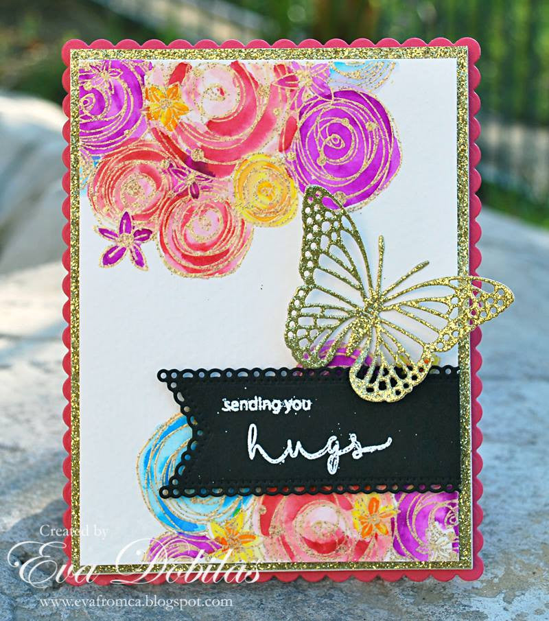 Hugs and Smiles Clear Stamps - Joy Clair - 8