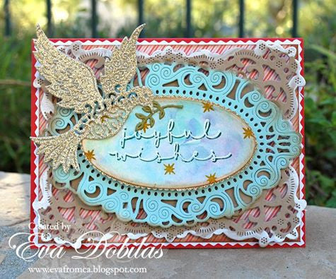 Joyful Wishes Clear Stamps