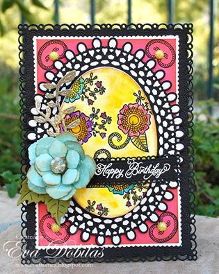 Paisley Bouquet Clear Stamps - Joy Clair - 2