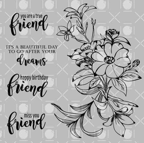 Forever Friends Digital Stamps