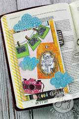 God's Focus | Bible Journaling Clear Stamps